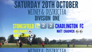 Weekend Results (20th October 2018)