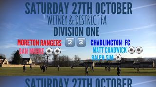 Weekend Results (27th October 2018)