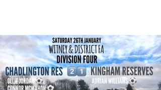Weekend Results (26th January 2019)