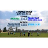 Weekend Results (30th March 2019)