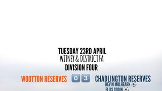 Midweek Result (Tuesday 23rd April 2019)