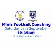 Minis Football Coaching