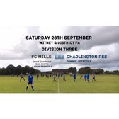 Weekend Results (28th September 2019)
