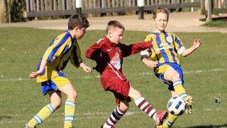 Hurst under12's vs Romsey Town FC