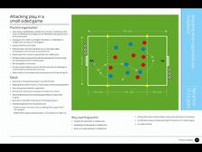 Elite Future Game - Attacking play in a SSG                  Age 17-21