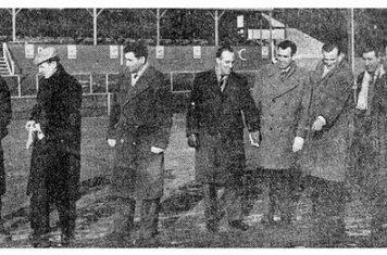 Pitch inspection Worcester City v Liverpool