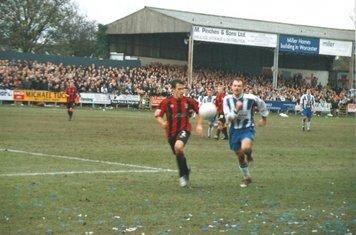 Worcester City v Huddersfield Town