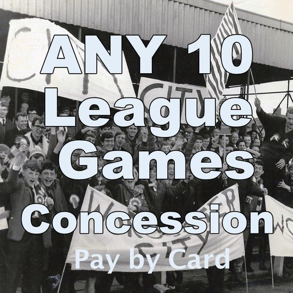Concession Any 10 League Home games