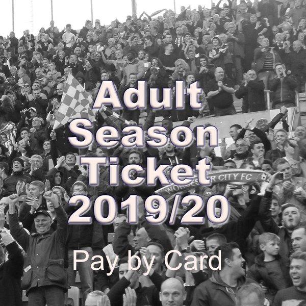 Adult Season Ticket 2019/2020