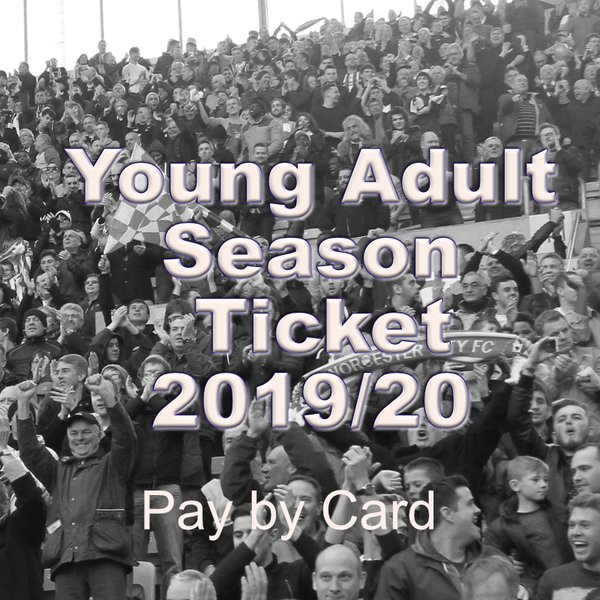 Young Adult Season Ticket 2019/20
