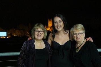 Jane Clarke,  Chloe Heeley and Lynn Jones
