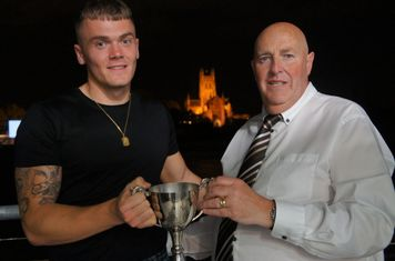 Player of the Year Luke English