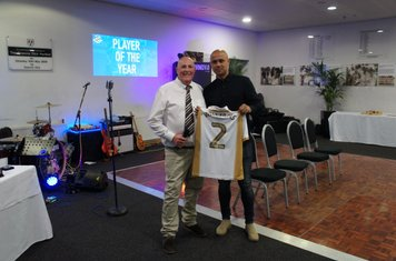 Thanks to George Williams for donating a shirt to our auction