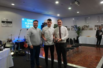 Young Player of the Year Liam Lockett