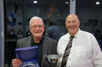 Clubman of the Year Ken Johnson