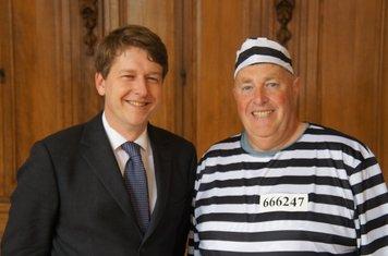 Robin Walker MP and Steve Goode