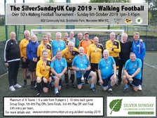 The Silver Sunday UK Walking Football Cup 2019