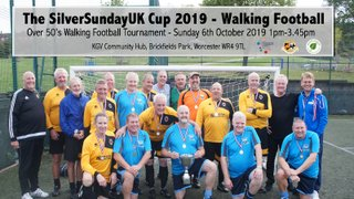 OVER 50's WALKING FOOTBALL TOURNAMENT