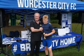 Over 14's Penalty Shoot Out Winner