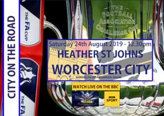 CITY ON THE ROAD - HEATHER ST JOHNS - FA CUP PRELIMINARY ROUND #BBCFACUP