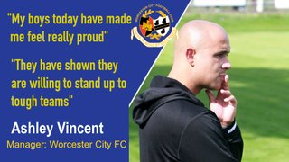CITY MANAGER ASHLEY VINCENT ON THE FA VASE WIN