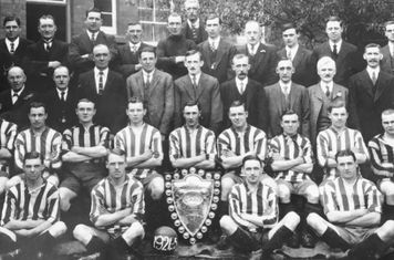Championship Winning side from 1924-25 Season