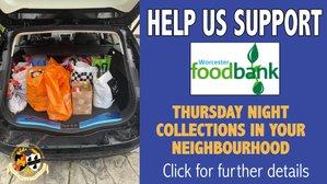 HELP US SUPPORT WORCESTER FOODBANK