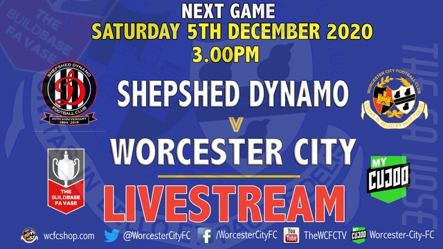 SHEPSHED DYNAMO V CITY - SATURDAY 5TH DECEMBER