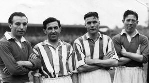 THE DAY STANLEY MATTHEWS PLAYED AT ST GEORGES LANE