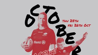 Saracens are coming to Chingford