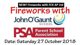 Fireworks Night at John O'Gaunt School