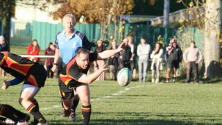1st XV 3rd round National Cup win V Newcastle (Staffs)