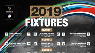 2019 Six Nations - All live on the big screen