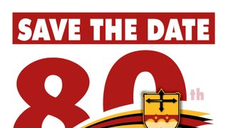 West Bridgford RFC 80th Anniversary Ball - Save the Date