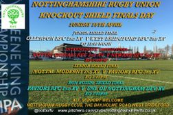 Nottinghamshire RFU - Knockout Shield Finals