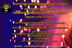 President's Supper - Awards Evening