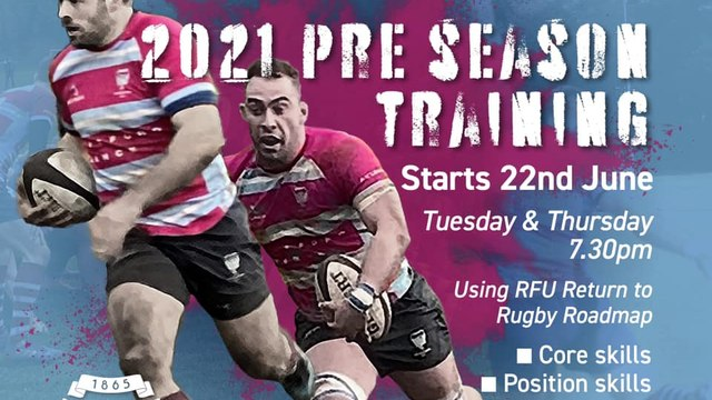 PRE-SEASON DATES ANNOUNCED FOR MENS RUGBY