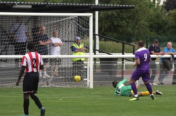 Billy Bricknell's goal which disallowed for offside