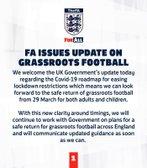An eggsellent return for football at Easter