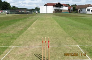 Today's wicket looking good!