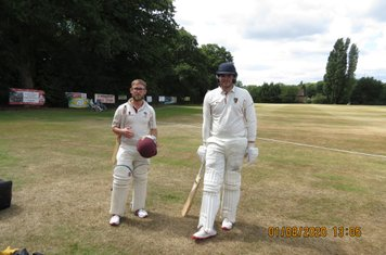 New opening partnership Sam & Charlie