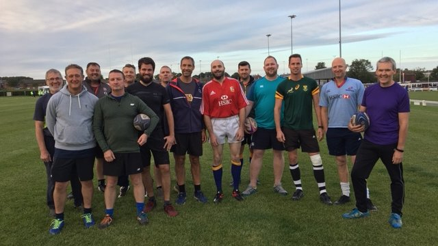 Alnwick RFC Launch Touch Rugby for Adults