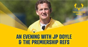 Clubhouse Event - An evening with the Premiership Refs