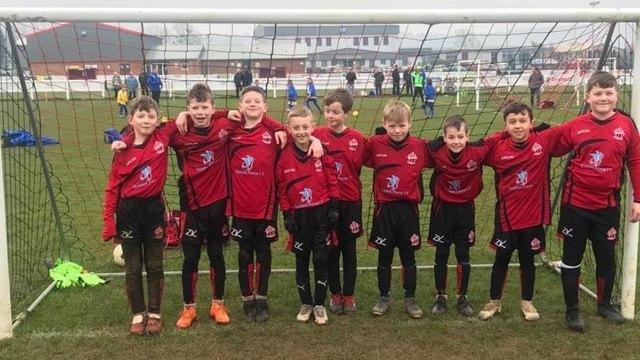 QWFC Under 10's Reds