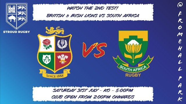 Watch the Second Lions Test