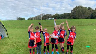 Seaford Under 7's at Hasting & Bexhill Mini Festival