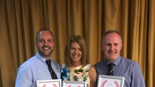 Valued Wigan volunteers at Lancashire awards night.