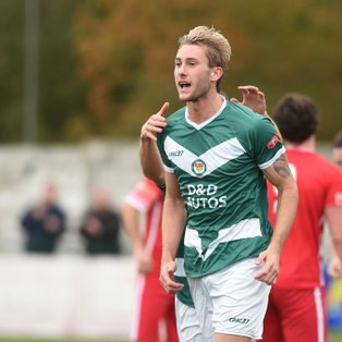MATCH REPORT: ASHFORD UNITED 2-0 WHITSTABLE TOWN