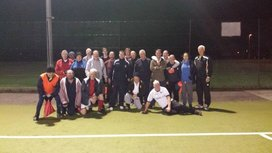 Walking Football Training