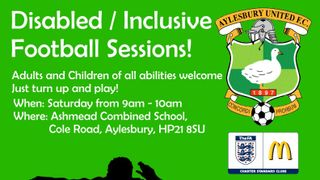 No Disabled / Special Needs / Inclusive Sessions over Easter